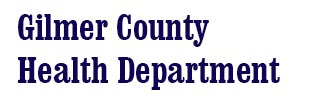 Gilmer County Health Department Logo
